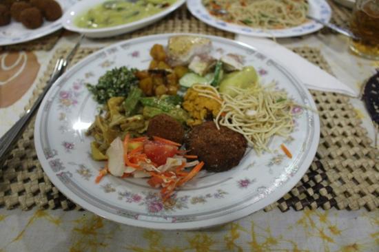 SANKAREST Garden Restaurant: One of many plates