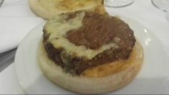 """Lark Bar & Restaurant: """"veggie burger""""????"""