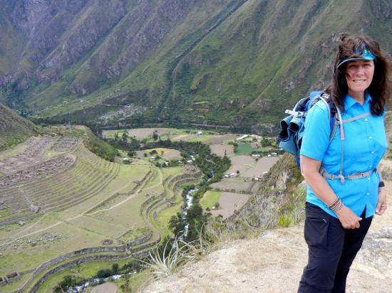Llaqtapata : Amazing overlook on the trail