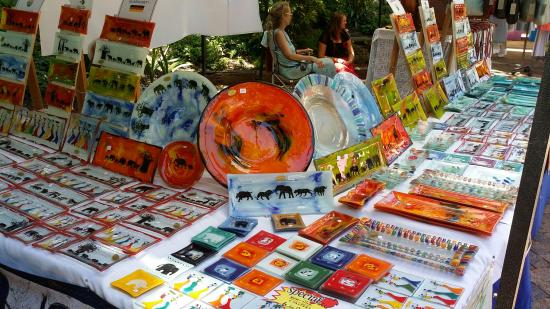 Slow Market Stellenbosch: Some beautiful glass art