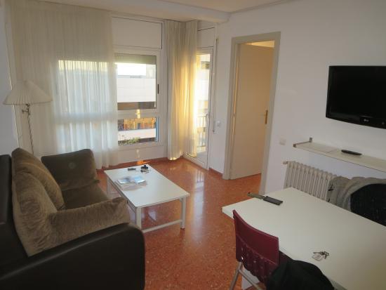 Apartamentos Astoria: Living room