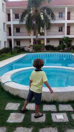 Hotel Bavaro Green : super segura com area separada de criança