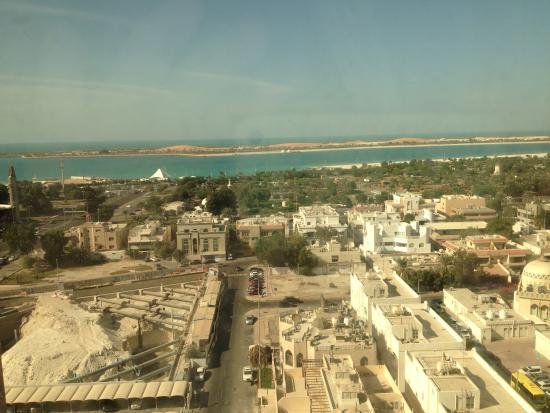 Sheraton Khalidiya Hotel: View from my window on the 12th floor