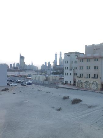 Holiday Inn Express Dubai-Internet City: View from the room