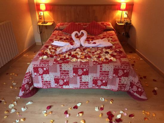 Hotel L'Ermita: Habitación romántica