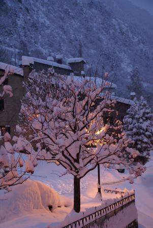 Hotel L'Ermita: jour de neige