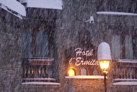Hotel L'Ermita: Hivern a Meritxell