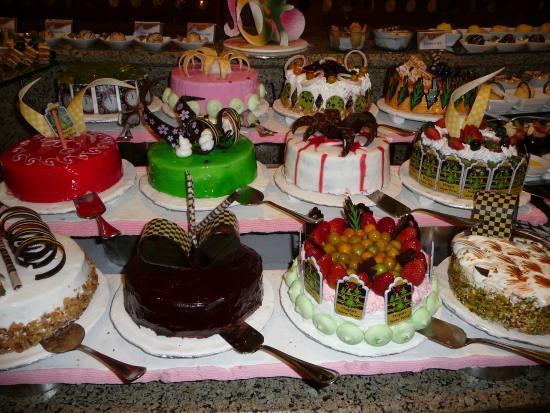 Jaz Mirabel Beach Cakes