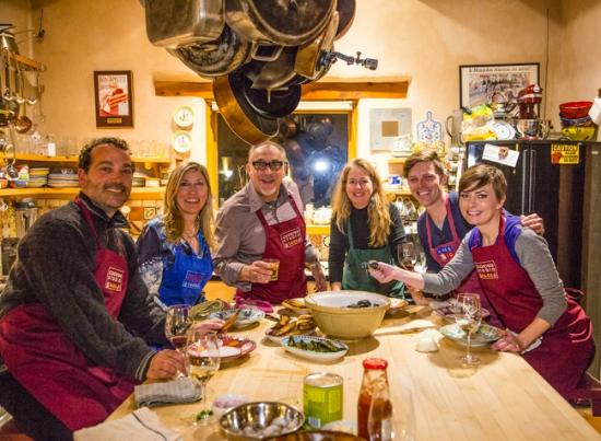 Arroyo Seco, NM: Great class at Cooking Studio Taos with Chef Chris Maher