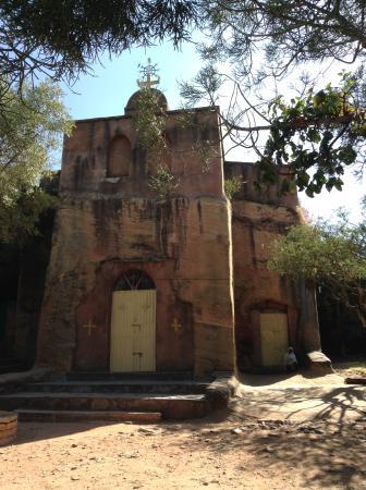 Wukro, Ethiopia: Церковь в Вукро