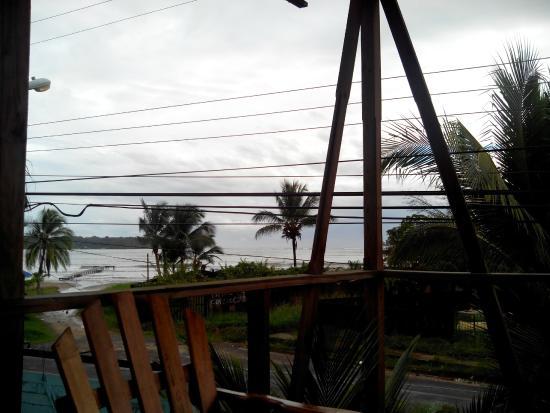 Hostal Mar e Iguana: Vistas desde la terraza del hotel