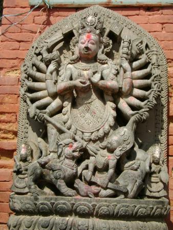 Ugrachandi and Bhairav Statues