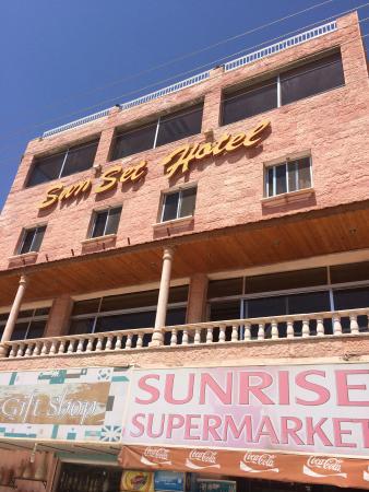 Sun Set Hotel: ホテル外観