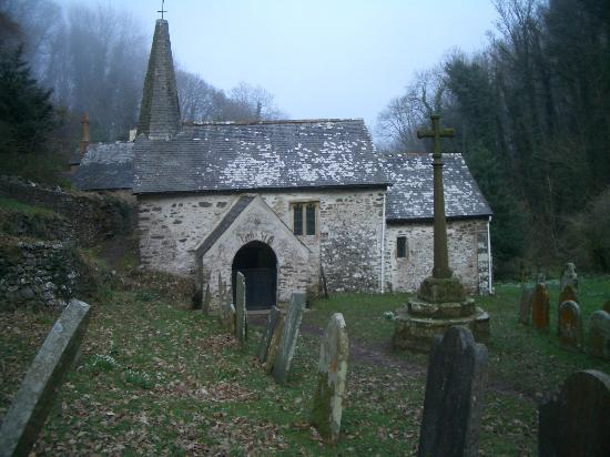 Culbone Church And The Fairytale Tunnels From The South