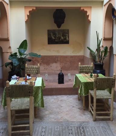 Riad Ivissa : La colazione...molto buona