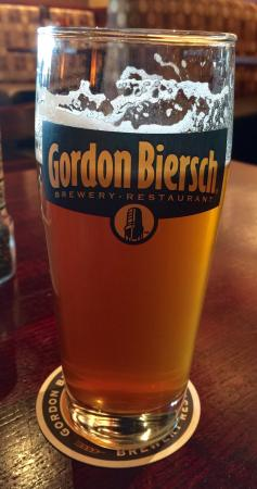 Gordon Biersch: Superb fresh IPA