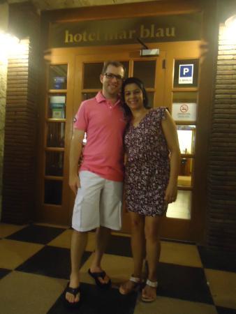 Mar Blau Tossa Hotel : Entrada