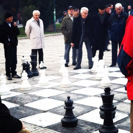 Chess players of Sarajevo  - Picture of Neno & Friends free