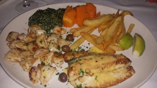 Fishmonger Illovo: #LineFish and #Calamari Platter