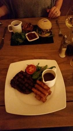 The Crown Inn: An exquisite steak and mouth watering beef burger