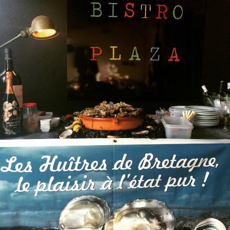 Bistro Plaza Santa Gertrudis: BAR A HUITRES DE BRETAGNE