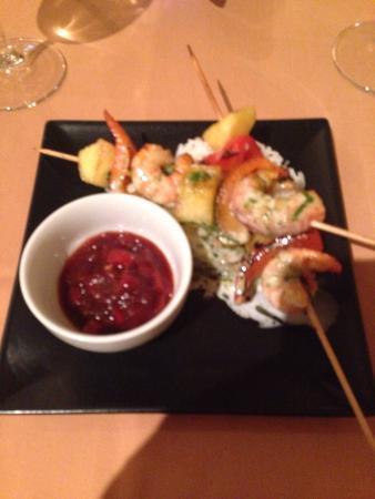 Sofia's Restaurant : King prawn and rice starter