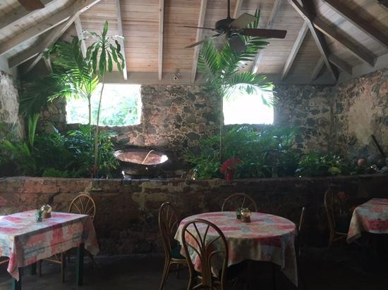 The Sugar Mill Restaurant: inside dining area