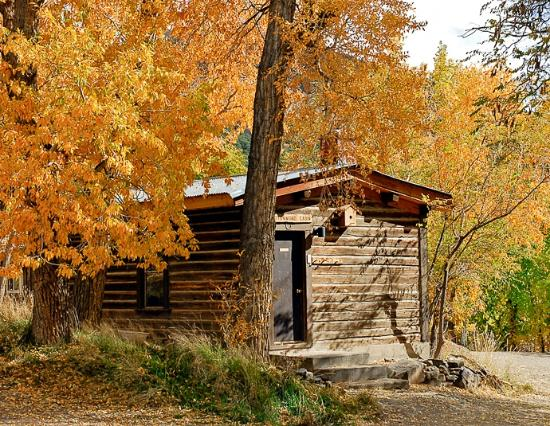 Orient Land Trust / Valley View Hot Springs: CottonWood Cabin