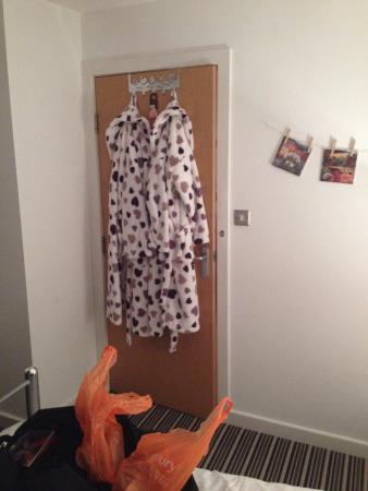 Hebden Bridge Guest House: His and hers dressing gowns are provided !!