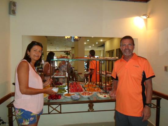 Hotel Marbella : El comedor para desayunar