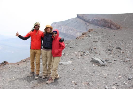 Lascar Volcano: Cratera Vulcão Lascar