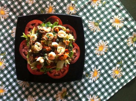 Peccati Di Gola: Ensalada de camarones