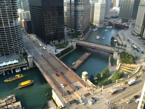 Renaissance Chicago Downtown Hotel View From River Rooms