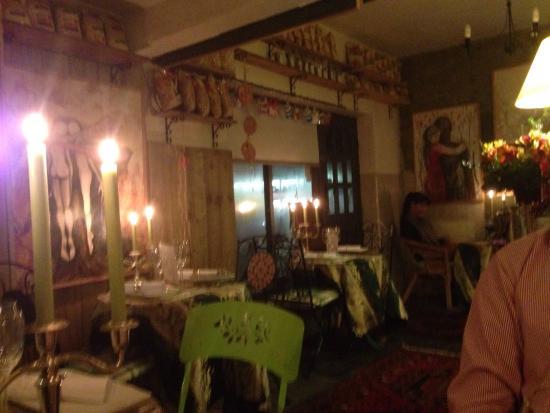 Mediterraneo Restaurant : Very romantic