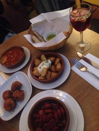 Andalucia Tapas Restaurant: Andalucia Tapas, London