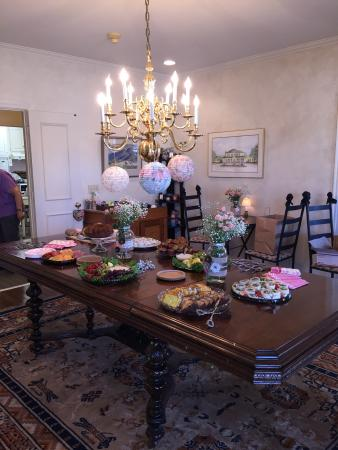Montford Inn and Cottages: Dinning room