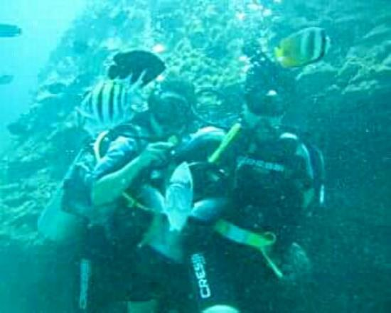Bali, Indonesia: Having Great Under Water Adventure with My Besties #Diving