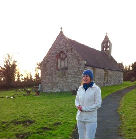 The Black Bear Inn: Bettws Newydd church