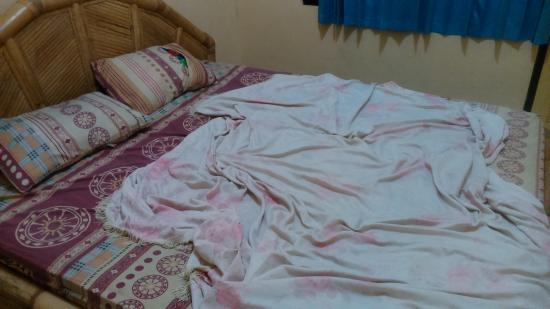 Made Homestay: my bed