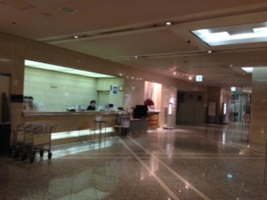 Kawagoe Prince Hotel: 駅の直結が便利