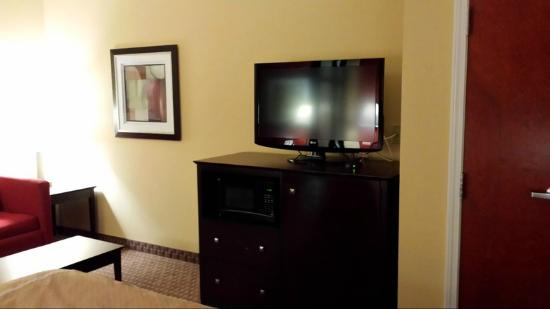 Comfort Suites Golden Isles Gateway Brunswick : Television/Microwave/Refrigerator