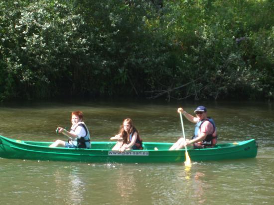 Camping Val de Bonnal : canoeing
