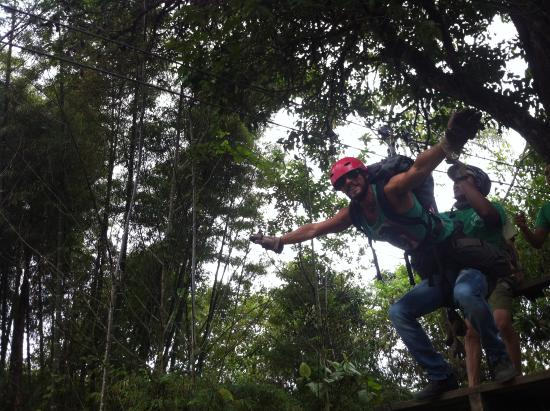 Mindo Canopy Adventure: superman