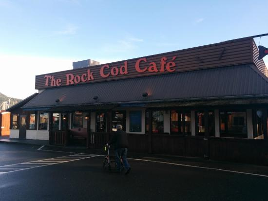 Rock Cod Cafe: Simple cozy