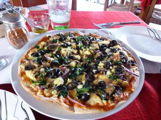 Amore: Veggie pizza