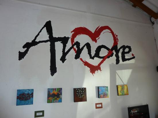 Amore: Indoor sign