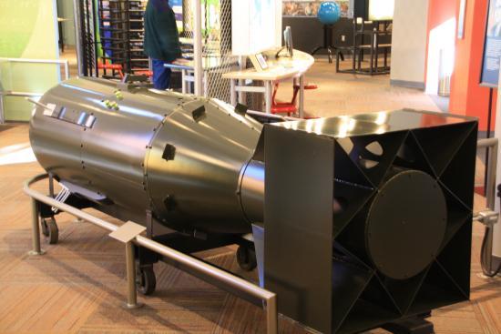Bradbury Science Museum : Little Boy bomb model