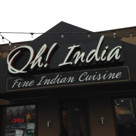 Oh! India Eat Street: Entrance