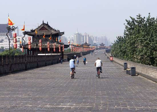 Xi'an City Wall (Chengqiang): Ancient Wall of Xian