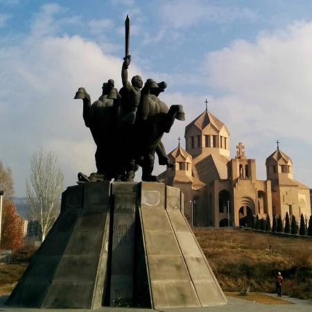 Zoravar Andranik Statue